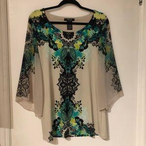 Tops - Beautiful Top with sheerish flowing sleeves !!!